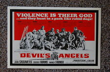 DEVIL'S ANGELS Lobby Card Movie Poster JOHN CASSAVETES