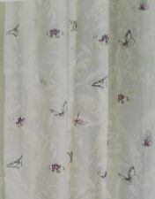 Next Cotton Delicate Butterfly Print Eyelet Curtains 168x229cms(66x90) rrp£95