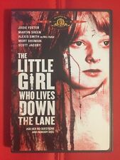 The Little Girl Who Lives Down the Lane~DVD OOP~1976~Jodie Foster~Martin Sheen