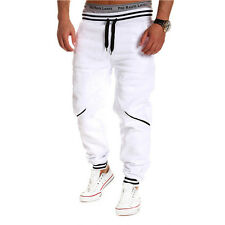 Mens Casual Gym Sport Tracksuit Bottoms Jogging Trousers Joggers Sweat Pants