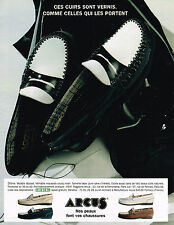 PUBLICITE ADVERTISING 064  1995  ARCUS    chaussures mocassins