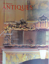 The Magazine ANTIQUES --JUNE 1991-ENGLAND,LOOKING GLASS,DEVON HOUSE, EMBROIDERY