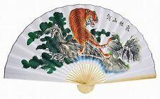 """""""Classic 35"""""""" Oriental Feng Shui Wall Fan-Tiger"""""""
