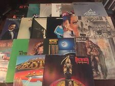 20 CLASSIC, HARD, HEAVY, HAIR-BAND ROCK LP LOT ~  NAZARETH, BAD CO., STYX, QUEEN
