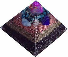 Orgonit Pyramide 12x12cm + Gans und Plasma / Keshe Chembuster OrgonEnergie