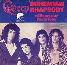 "7"" Queen – Bohemian Rhapsody / With My Car I'm In Love / Red Letter // Dutch"