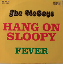 "THE MC COYS - HANG ON SLOOPY - FEVER - BELLAPHON - 7""SINGLES(E895)"
