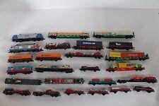 5062/32 - interesante colección con h0 locomotoras y vagones! roco, Trix, lima...!