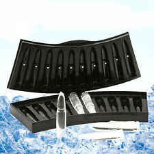 Silicion Bullet Shape Ice Cubes Tray Molds pudding Jellys Mold Freeze Maker