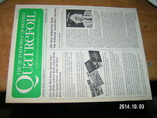 Automobile Quarterly's Quatrefoil Vol four N°1 1978