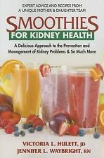 Smoothies for Kidney Health by Victoria L Hulett Jennifer Waybright WT73299