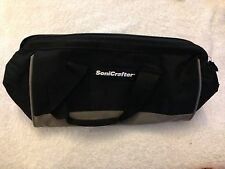 "New Rockwell SoniCrafter 13"" x 6"" x 8"" Heavy Duty Contractors Tool Bag"