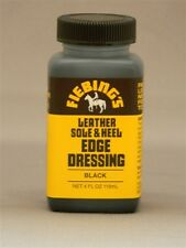 NEW Fiebing's Leather Sole & Heel EDGE DRESSING 4 Oz. renews BLACK on Boot/Shoe