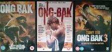 ONG - BAK TRILOGY [1,2,3] Beginning Tony Jaa Martial Arts Action Epic DVD *EXC*