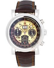 Cuervo Y Sobrinos Torpedo Pulsometro Automatic Men's Watch 3045.1CT MSRP: $5,950