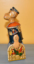 Antique 1939 Max Fleischer Walking Pop Eye Tin Litho  Metal Key WindUp Toy 8.5""