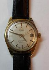Omega 24J Seamaster Automatic Wind Yellow Gold Top Shell Gents Wrist Watch