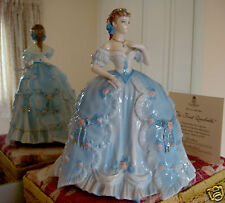 L/E ROYAL WORCESTER FIGURINE-THE FIRST QUADRILLE-COMPTON & WOODHOUSE+CERT