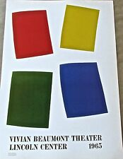 Ellsworth Kelly Poster Vivian Beaumont Theater Offset Lithograph 16X11 LC