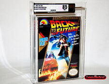 Back to the Future Nintendo NES Brand New Factory Sealed VGA 85 Mint Condition