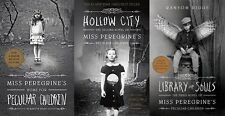 Miss Peregrine's Home for Peculiar Children 3 Libro Set Collection Ransom Riggs