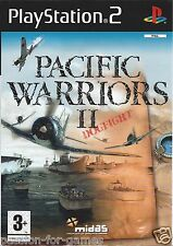 PACIFIC WARRIORS II (2) DOGFIGHT for Playstation 2 PS2 - with box & manual - PAL