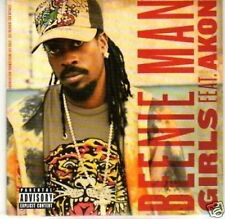 (H568) Beenie Man, Girls ft Akon - DJ CD