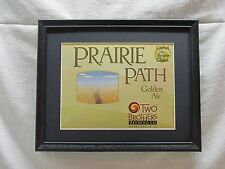 TWO BROTHERS PRAIRIE PATH GOLDEN ALE    BEER SIGN  #800