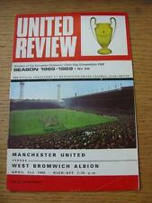 02/04/1969 Manchester United v West Bromwich Albion  . No obvious faults.
