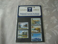 1981GOLDEN JUBILEE NATIONAL TRUST  SCOTLAND ABERDEEN DEESIDE PRESENTATION PACK
