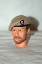 1/6 WW2 British SAS sand beret & cloth badge