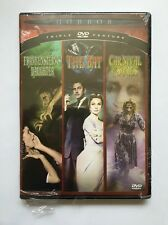 Horror Triple Feature: Frankenstein's Daughter The Bat Carnival of Souls DVD NEW