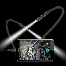 2M 6 LED USB Waterproof Endoscope Borescope Snake Inspection Video Camera 7mm LM