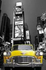 NEW YORK POSTER TIMES SQUARE YELLOW CAB