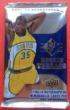 2007-08 SP Rookie Threads HOBBY Pack Durant RC? Jordan/LeBron/Kobe Auto/Patch?