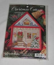 Bucilla Gallery Of Stitches Christmas Cottage House Cross Stitch Hernandez 4 x 6