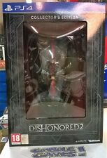 DISHONORED 2 COLLECTOR'S EDITION  NUOVO NEW SEALED PS4
