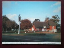POSTCARD CAMBRIDGESHIRE ABBOTS RIPON THREE HORSESHOES