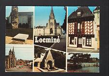 LOCMINE (56) MONUMENT de la RESISTANCE , CHAPELLE , EGLISE , MENHIR & CHATEAU