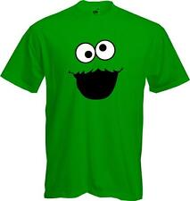 SESAME STREET MONSTER -cartoon honey monster funny face Quality T Shirt - *NEW*