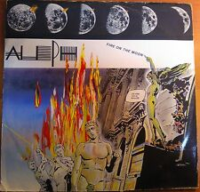 "DISCO 12"" VINILE ALEPH - FIRE ON THE MOON - MIX MAXI SINGOLO - VG/VG- BLUE LABEL"