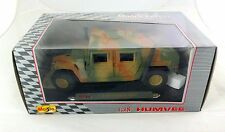 Maisto Mobile Forces Humvee Desert Camo 1:18 Die Cast Metal Truck NEW