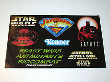 KENNER 1997 TOY CATALOG STAR WARS POTF2 BATMAN SUPERMAN BEAST WARS