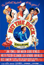 Hit the Deck SLIM DVD Region 1 Jane Powell Debbie Reynolds Vic Damone Ann Miller