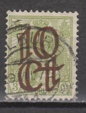 NVPH Netherlands Nederland nr. 116 used TOP CANCEL TILBURG 1923 Pays Bas