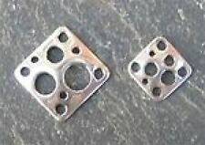 Plata Esterlina 13mm Plaza Conector