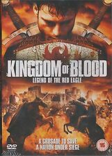 KINGDOM OF BLOOD - LEGEND OF THE RED EAGLE. David Janer (NEW/SEALED DVD 2012)