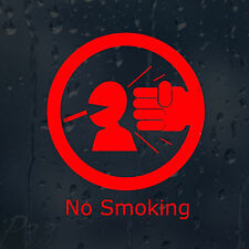 Funny No Smoking Sign Decal Vinyl Sticker Shops Pubs Hotels Cafes Offices Bars