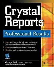 Crystal Reports Professional Results by George K. Peck (2003, Paperback)