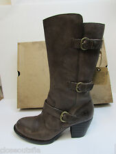 Born Size 11 M Maleri  Gray Leather Boots New Womens